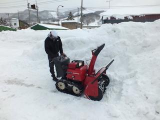 北海道夕張市のお年寄りに代わり、除雪ボランティアをしたい!