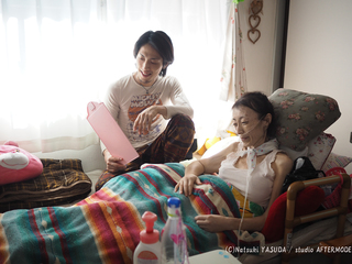 訪問看護 × 写真展!病気や障害と共に家で暮らす人々を伝えたい