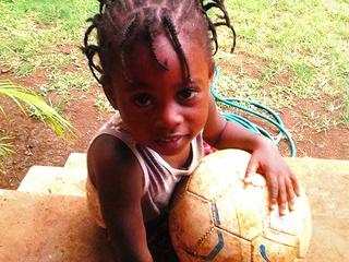 ジャマイカの子供達にサッカーボールを届けたい!!