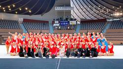 日本最高峰の新体操演技で熊本水害支援を・東京女子体大新体操競技部