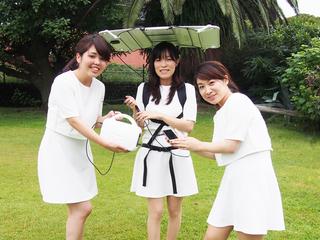 30歳で東京五輪を迎えるOL達の『歩くソーラー充電プロジェクト』