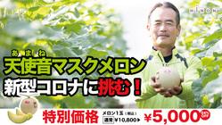 静岡温室メロン産地の維持再生!