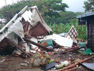 台風で半壊した鹿児島県トカラ列島の民宿を再開させたい!