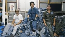 20トンの廃棄直前リーバイス501で、未来のファッションを紡ぐ。
