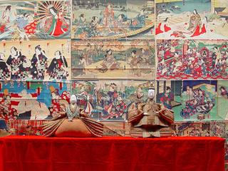 イタリアラヴェンナで行われる10月日本祭りで絵紙を飾りたい!!