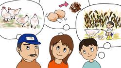 鳥インフルエンザウイルス被害から人と鶏の未来を一緒に考えましょう。