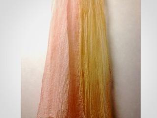 日本の文化、草木染めの生地で作った衣服の写真集を作りたい!