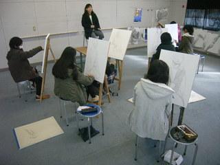 地方の感性を活かして美術、芸術大学に進学のための予備校の存続