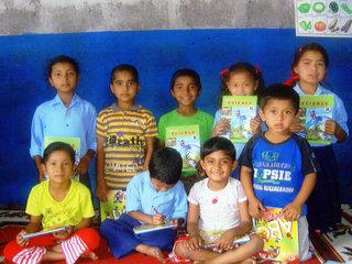 図書館の無いネパールのポカラに、子どもたちのための 図書館をつくろう!!