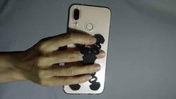 スマートフォン片手使い用ホルダー