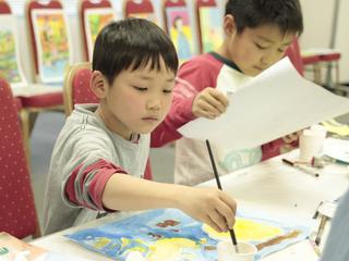 バリ島でのアート交流イベントに仙台の3名の小学生を派遣したい!
