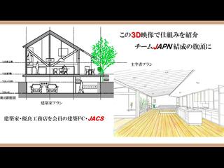 ここで建てたい!と思い、世界へも発信する3D映像を作りたい