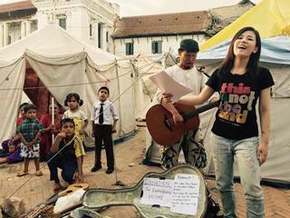 ネパールでチャリティ音楽フェスを開催し1000の光を灯したい!