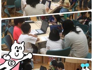 長野市内の児童館にてScratchを使ったプログラミングを教えたい