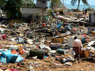 超大型台風ヨランダが直撃したフィリピンの村を洪水から救いたい