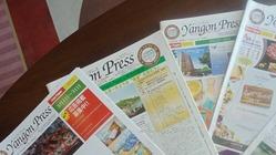 ミャンマー初の日系情報紙「YangonPress」への支援基金