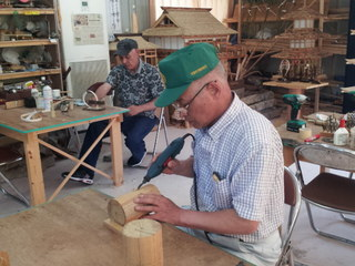 仮設住宅に避難している高齢者が、活動出来る工房を維持したい!