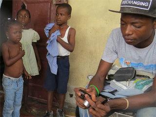 ハイチの若武者クレムソンによるハイチ情報サイト運営を応援!