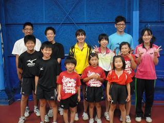 小学生の卓球競技人口を増やし、全国最下位からの脱出を目指す!