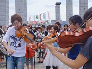地方の才能ある若手音楽家でオーケストラ結成!一口パトロン募集