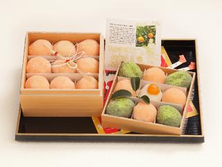 お菓子の神様が眠る地で!菓子の起源「橘」を表した和菓子が誕生