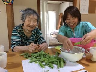 高齢者の方を笑顔にするデイサービスを、今後も岐阜で続けたい!
