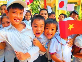ベトナムの子ども達と唐揚げづくり!日本とベトナムを繋ぎます!
