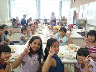 外国人の児童・生徒や外国人の大人の共同夏キャンプ!