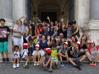 福島の子供たち20人がイタリア 転地保養に行く機会を与えたい!