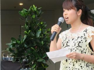 グローバル人材となる女子学生を育てる、スピーチコンテスト開催