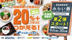 町田の飲食店を応援しよう!飲食店応援プロジェクト【みらい飯第二弾】