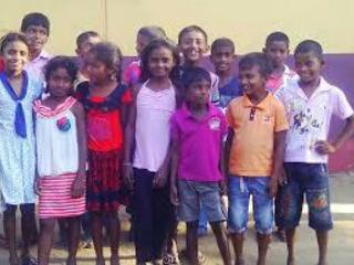 スリランカの子どもたちが読み書きができるようサポートしたい