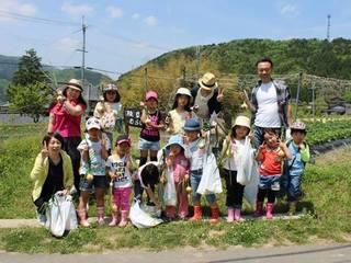 地域のちからと子供たちの笑顔で京丹波の里山再生プロジェクト!