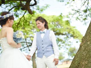 一生に一度の結婚式、女性のためのタキシードを製作したい!