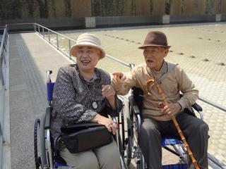 おじいちゃんおばあちゃんをあの日の思い出の場所へ連れて行きたい!