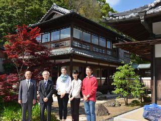 淡路島の登録有形文化財「春陽荘」を改修!島の観光名所誕生へ!