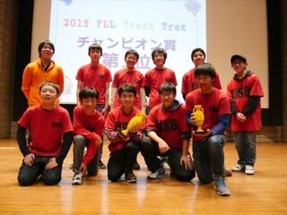 世界最大のロボット大会FLLで、優勝したい!