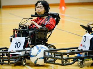電動車椅子サッカーW杯日本代表になるために応援をお願いします
