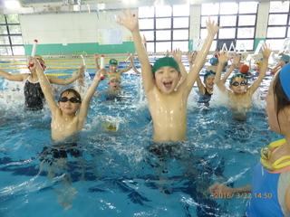 3.11以降運動を我慢してきた陸前高田の子ども達に水泳教室を!