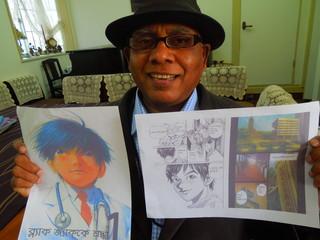 マンガのない国バングラデシュで、日本のマンガ本を出版したい!