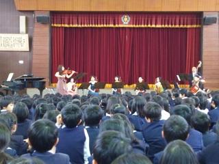 子ども用バイオリンで、子ども達にクラシックの体験をしてほしい