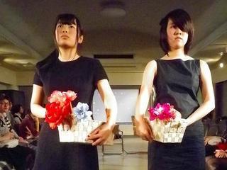 ファッションショーを通して女性に対する暴力の問題を訴えます!