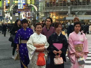 たくさんの訪日観光客に渋谷を着物・浴衣姿で楽しんで欲しい!