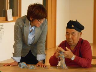 手編みで相馬の被災者の心を癒すso much♡プロジェクト!