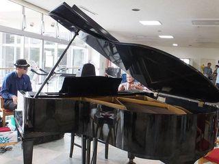 ジャズ唱歌ボランティアコンサートを被災地の施設の方々へ