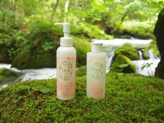 肌につけるだけで泡立つ洗顔!東北の自然素材で愛される化粧品を