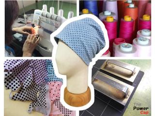 生まれ変わった育毛促進用帽子「The Power Cap」を生産します!