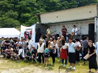 2年間続けてきた世代を超えた豊島の音楽イベントを守り続けたい