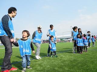 福島で元気に笑顔になれる親子向けサッカーイベントを開催したい