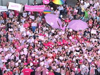 ピンクドット沖縄でゲイカップルの人前結婚式を挙げたい!